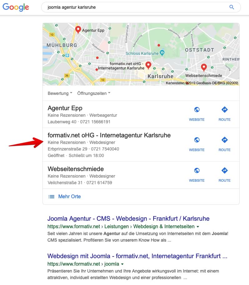 Local SEO: Mehr Sichtbarkeit mit Google My Business